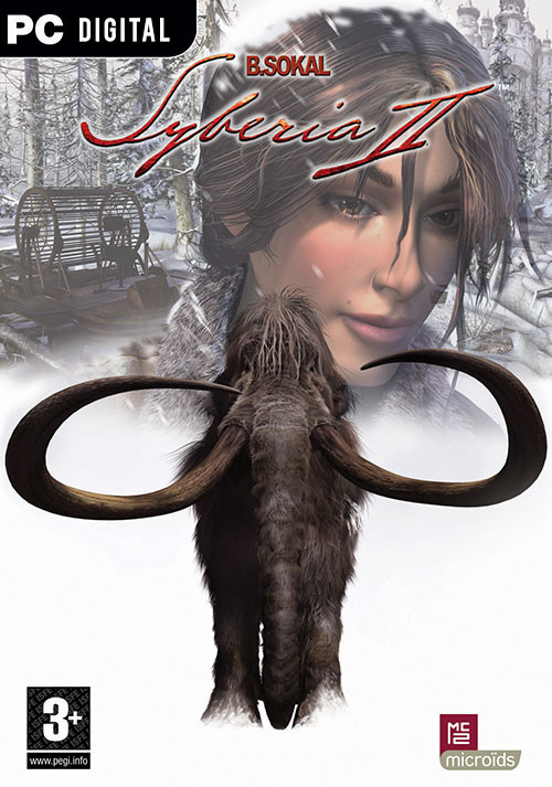 Syberia II - Cover / Packshot
