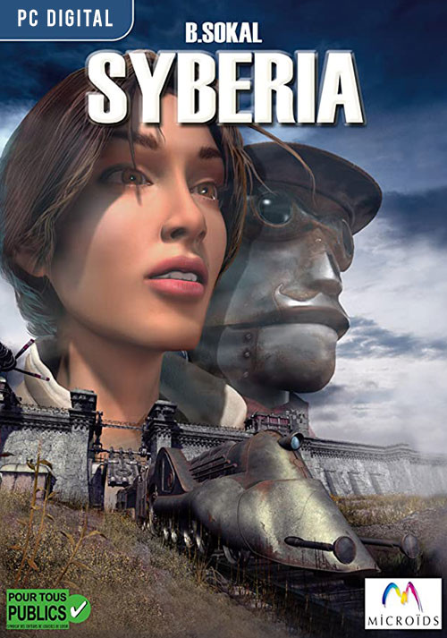 Syberia - Cover / Packshot