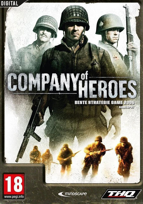 Company of Heroes - Cover / Packshot