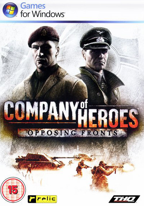 Company of Heroes: Opposing Fronts - Cover / Packshot