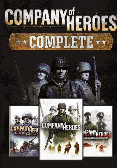 Company of Heroes Complete Pack - Cover