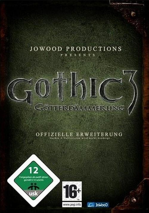 Gothic 3: Götterdämmerung Enhanced Edition - Cover / Packshot