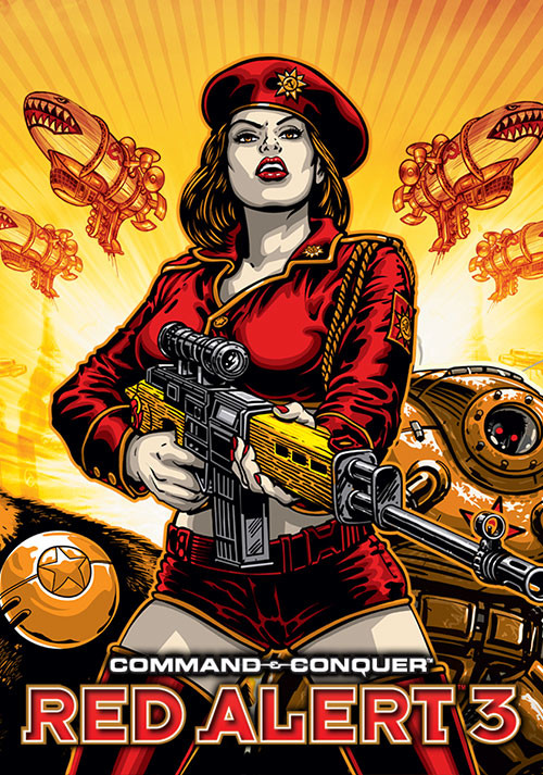 Command & Conquer: Red Alert 3 - Cover / Packshot