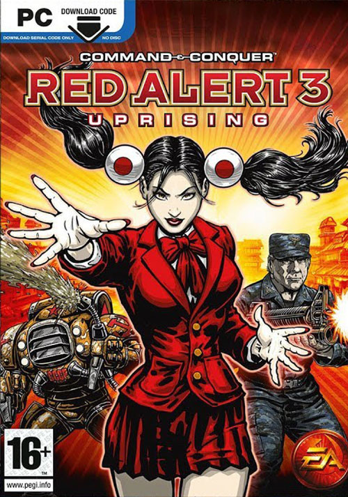 Command & Conquer: Red Alert 3 - Uprising - Cover / Packshot