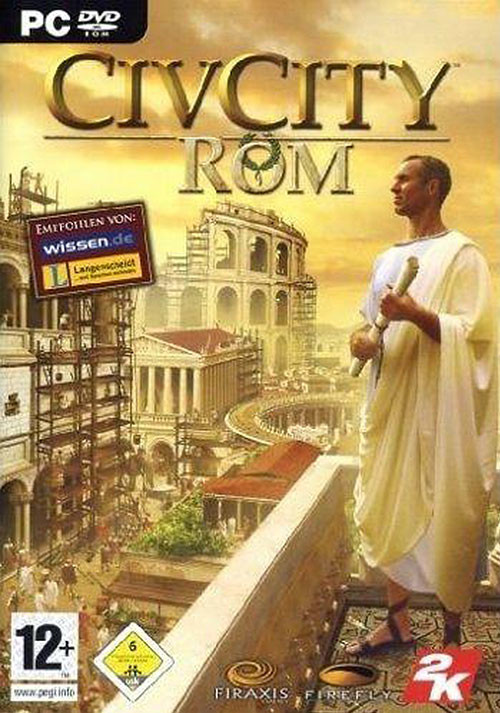 CivCity: Rome - Cover / Packshot