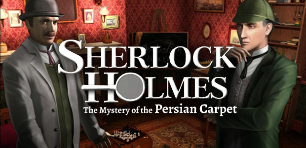 Sherlock Holmes: The Mystery of the Persian Carpet - Cover / Packshot