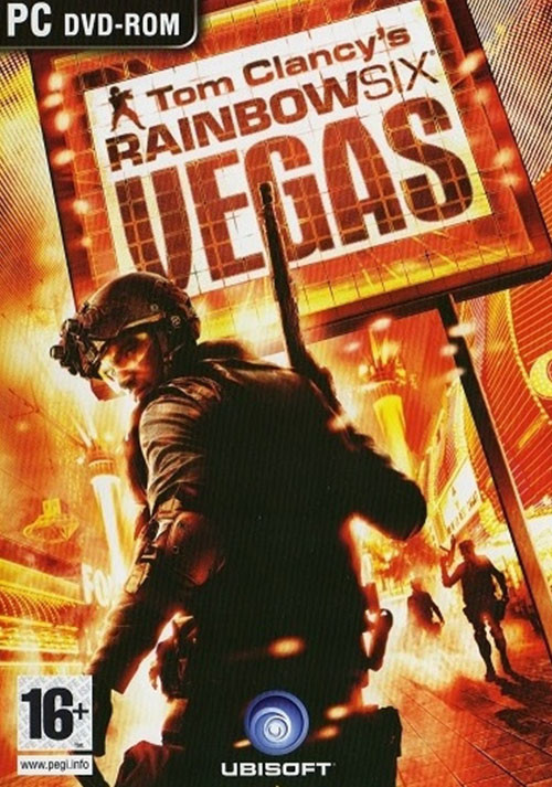 Tom Clancy's Rainbow Six Vegas - Cover
