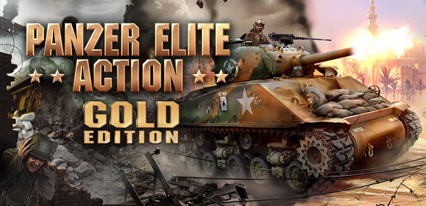 Panzer Elite Action Gold Edition - Cover / Packshot