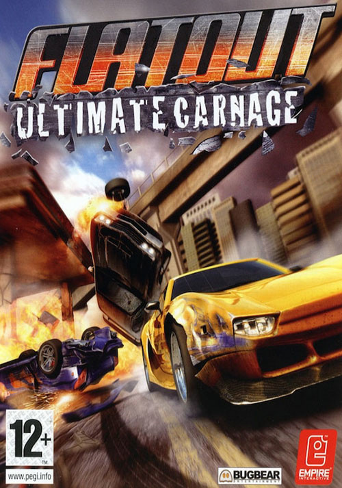 FlatOut: Ultimate Carnage - Cover / Packshot
