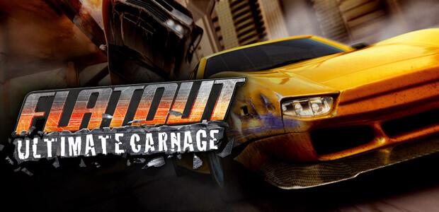 FlatOut: Ultimate Carnage - Cover / Packshot
