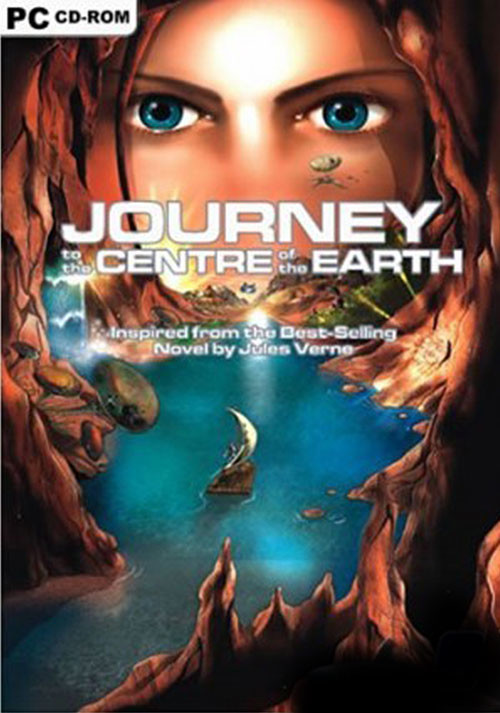 Journey to the Center of the Earth - Cover / Packshot
