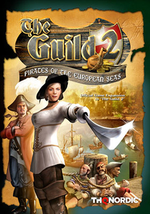 The Guild 2 Expansion Pack - Pirates of the European Seas - Cover