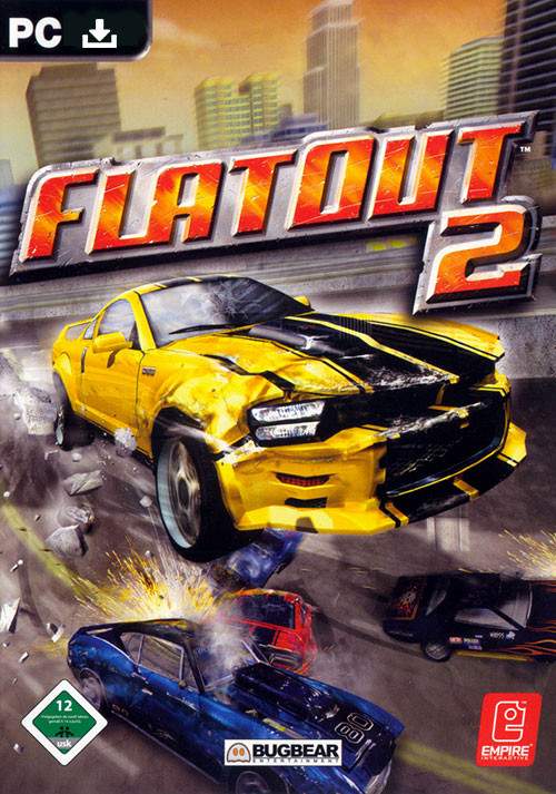FlatOut 2 - Cover / Packshot