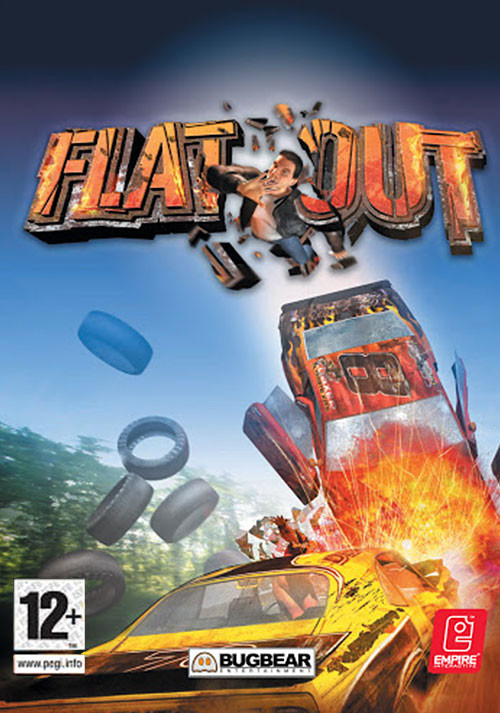 FlatOut - Cover / Packshot