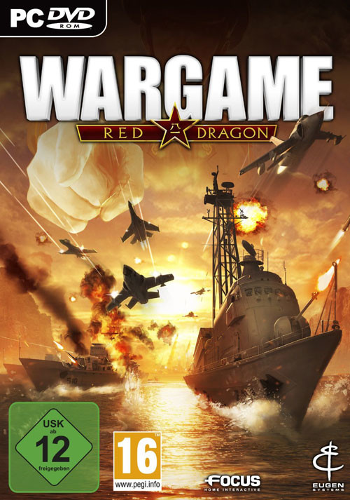 Wargame: Red Dragon - Cover / Packshot