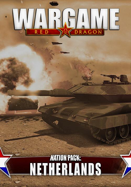 Wargame Red Dragon - Nation Pack: Netherlands - Cover / Packshot