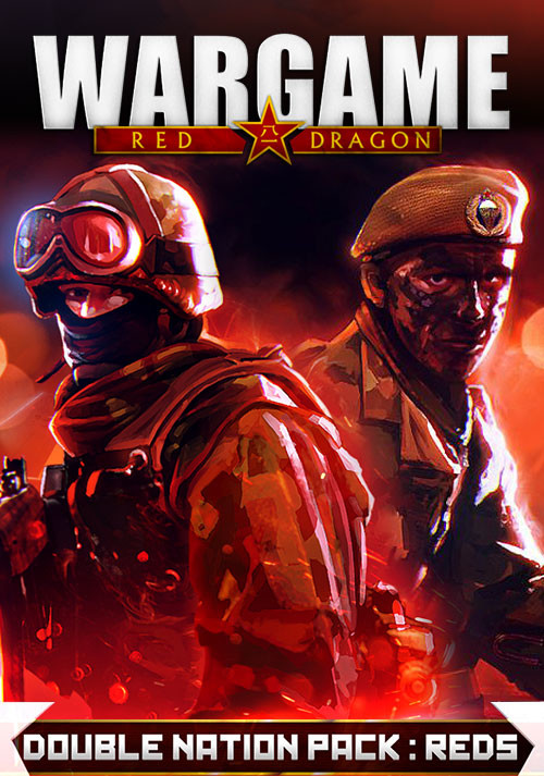 Wargame: Red Dragon / Double Nation Pack: REDS - Cover / Packshot