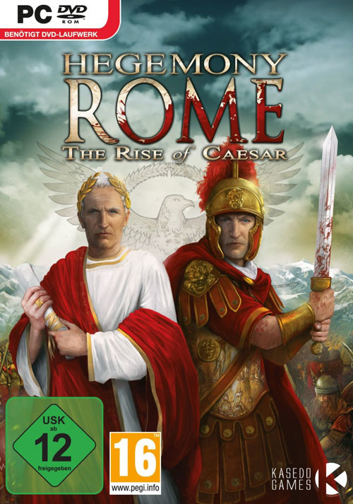 Hegemony Rome: Rise of Caesar - Cover