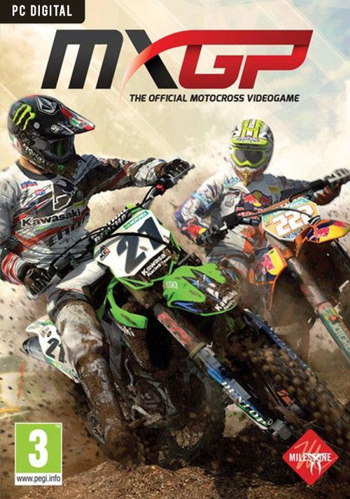 MXGP: The Official Motocross Videogame - Cover / Packshot