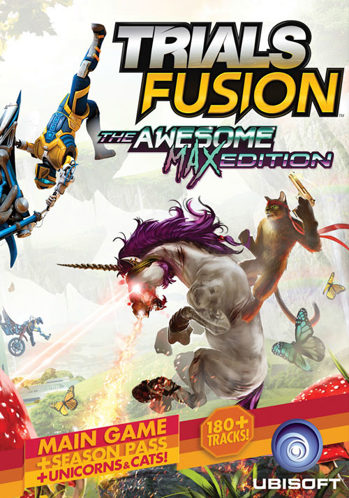 Trials Fusion Awesome Max Edition - Cover / Packshot