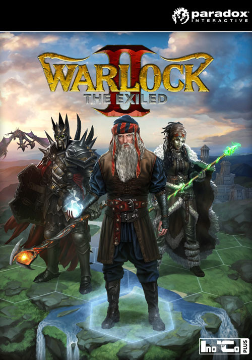 Warlock 2: The Exiled Re-Launch - Cover