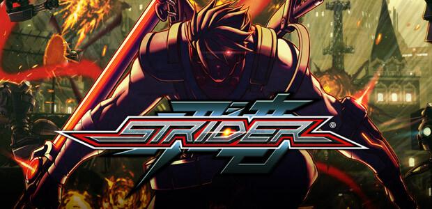 STRIDER - Cover / Packshot