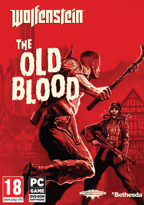 Wolfenstein: The Old Blood - Cover