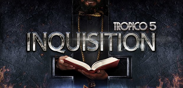 Tropico 5 – Inquisition DLC - Cover / Packshot