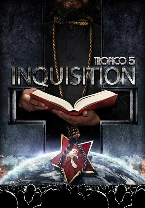 Tropico 5 – Inquisition DLC - Cover / Packshot