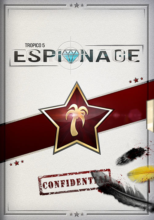 Tropico 5 – Espionage Addon - Cover / Packshot