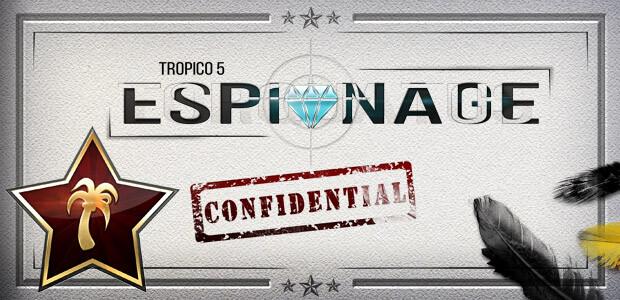 Tropico 5 – Espionage Addon - Cover / Packshot