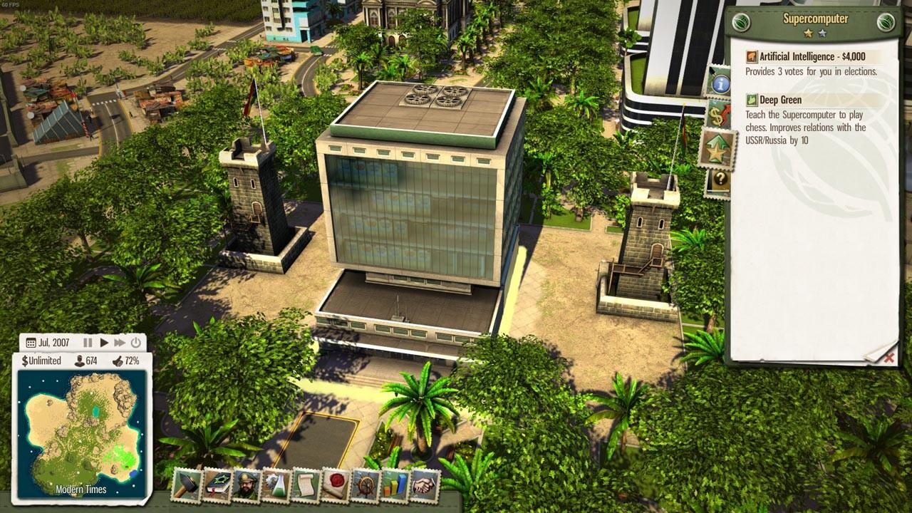 Building Order Tropico