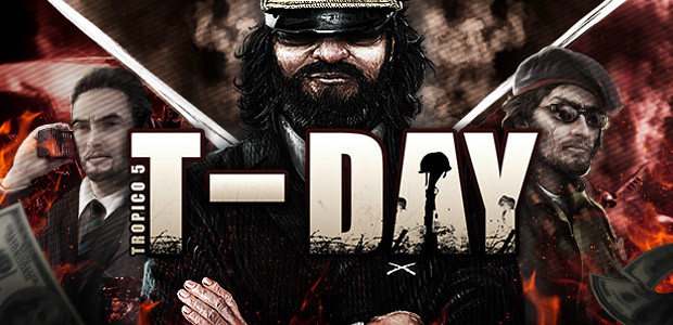 Tropico 5 – T-Day DLC - Cover / Packshot