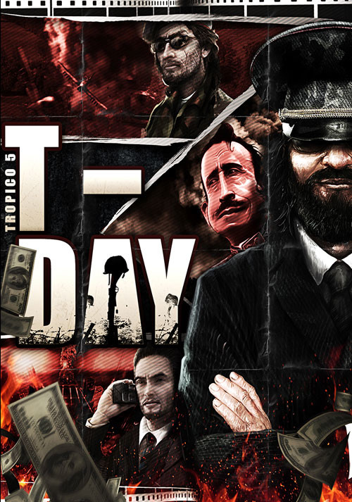 Tropico 5 – T-Day DLC - Cover
