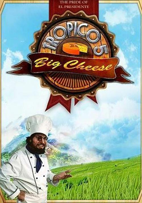Tropico 5 – The Big Cheese DLC - Cover