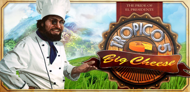 Tropico 5 – The Big Cheese DLC - Cover / Packshot