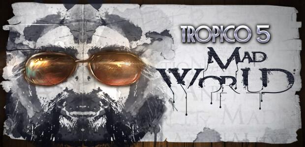 Tropico 5 – Mad World DLC - Cover / Packshot