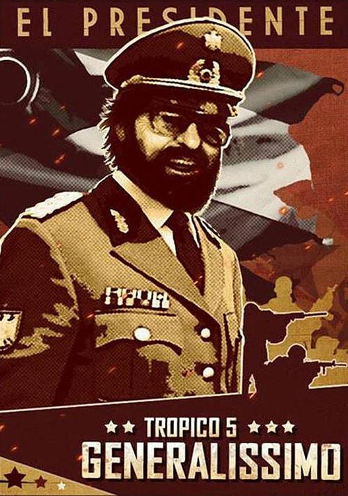 Tropico 5 – Generalissimo DLC - Cover