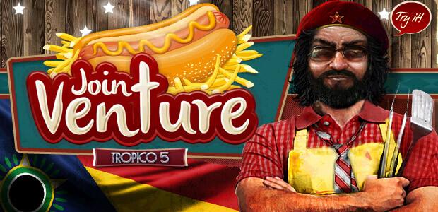 Tropico 5 – Joint Venture DLC - Cover / Packshot