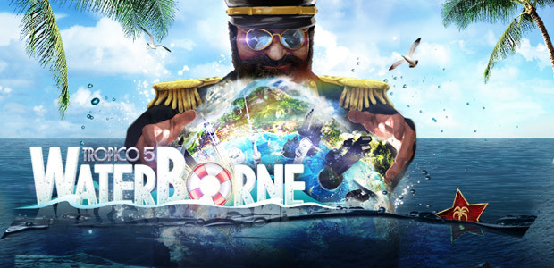 Tropico 5 – Waterborne Erweiterung - Cover / Packshot