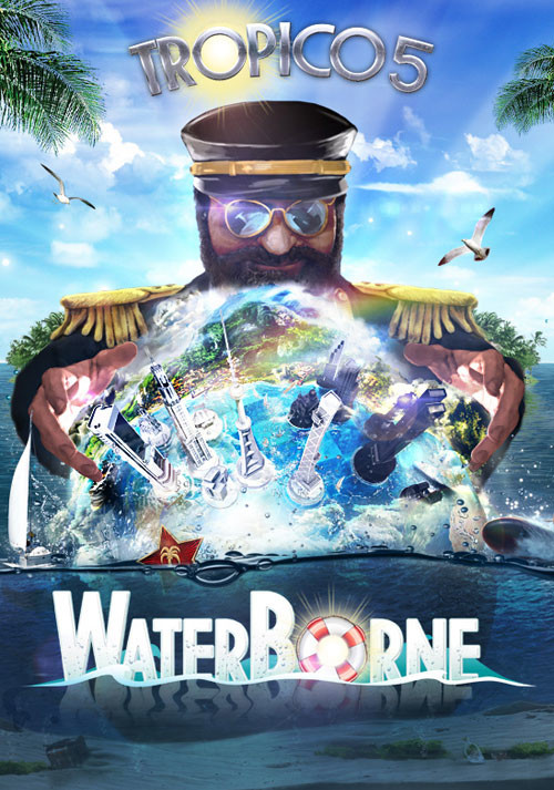 Tropico 5 – Waterborne Expansion - Cover / Packshot