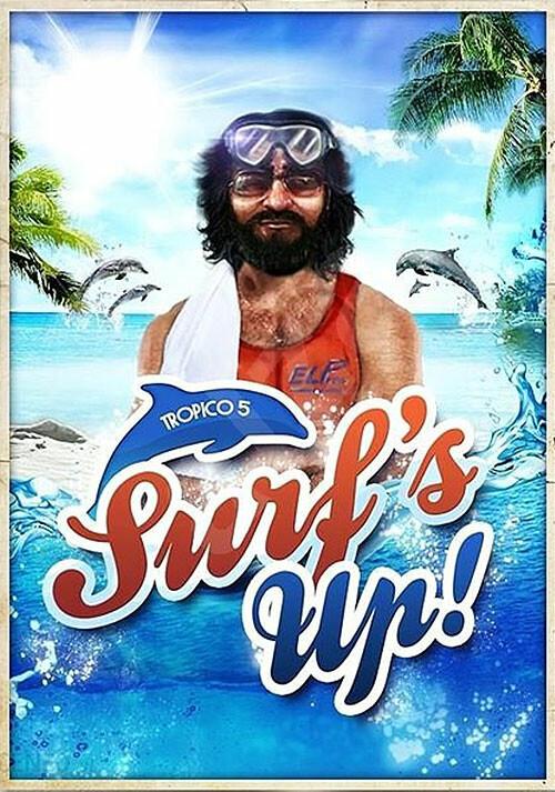 Tropico 5 – Surfs Up! DLC - Cover / Packshot