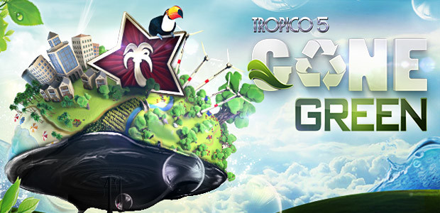Tropico 5 – Gone Green DLC - Cover / Packshot