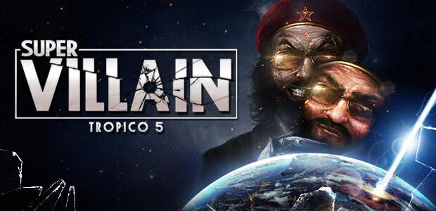 Tropico 5 – Supervillian DLC - Cover / Packshot