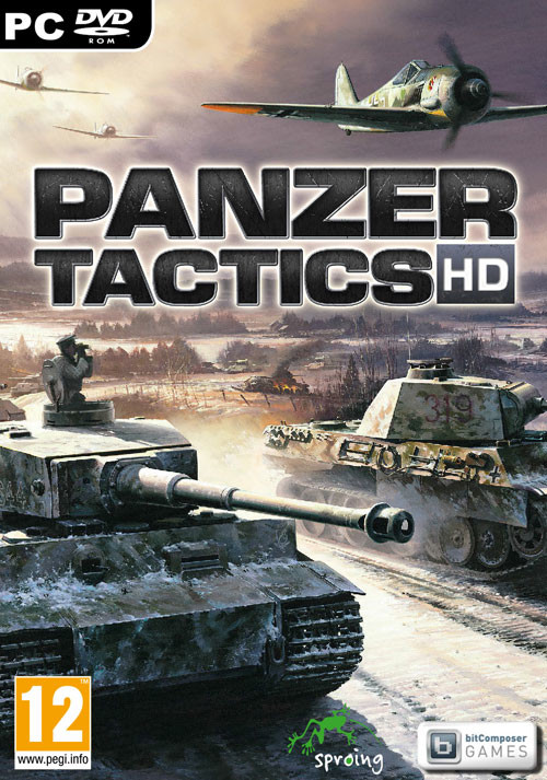 Panzer Tactics HD - Cover
