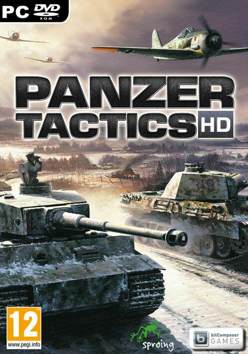 Panzer Tactics HD - Cover / Packshot
