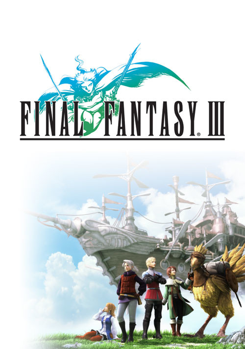 FINAL FANTASY III - Cover / Packshot
