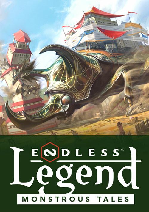 Endless Legend™ - Monstrous Tales - Cover / Packshot