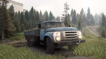 Screenshot1 - Spintires® - Aftermath DLC