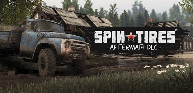Spintires® - Aftermath DLC - Cover / Packshot